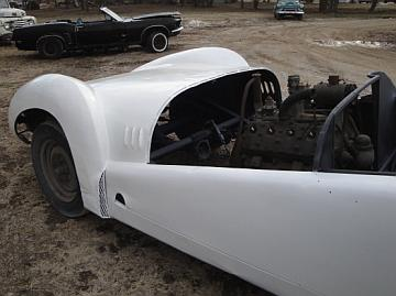The Lost Lincoln Zephyr Special Historic Vintage Classic Race Car